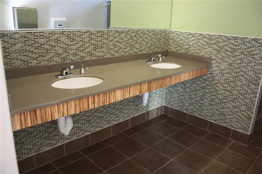 solid surface countertops home depot canada integral sinks fort college co countertop material cost meganite