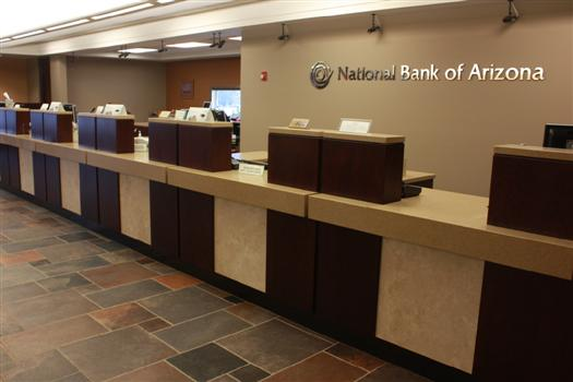 banking retail institutional casework arizona new mexico nevada california. Black Bedroom Furniture Sets. Home Design Ideas